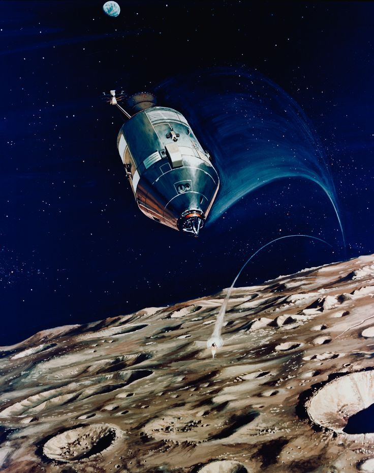 Pin by Bret Drager on the art of the race for space ...