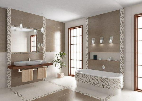 72 besten badezimmer ideen fliesen leuchten m bel und. Black Bedroom Furniture Sets. Home Design Ideas