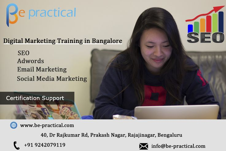 Be-practical is one of the Best Digital Marketing Training institute In Bangalore with 100% placement assistance. For More Details Visit http://bit.ly/25UJYfd or Call 9242079119