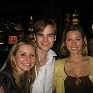 Beverley, David, and Jessica (behind the scenes) by Beverley Mitchell on WhoSay