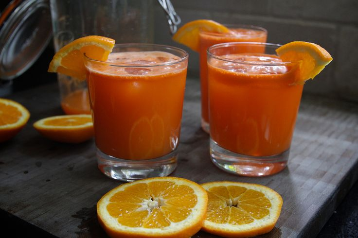 Drinking Apple And Carrot Juice For Flu