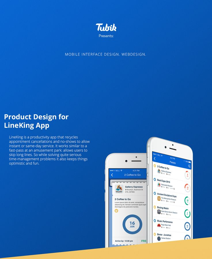 Lineking App Product Design by Tubik Studio on Behance