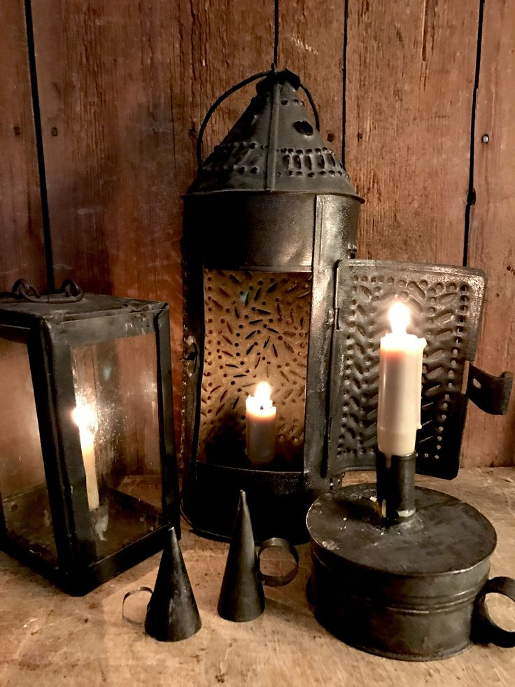 Our colonial settlers built houses with few windows and doors in order to keep the heat from the fireplace inside. This made for very dark houses! Until Thomas