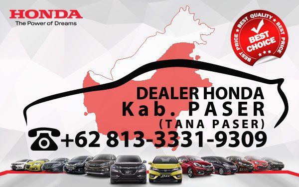 Dealer Honda Kab. Paser - Daftar Harga OTR, Cash Kredit Mobil Baru