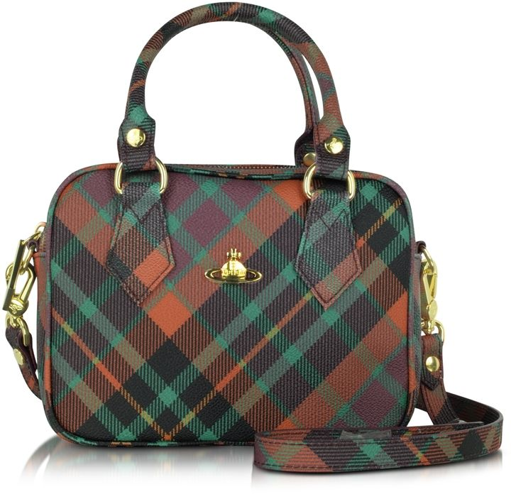 Derby Mac Henry Eco Leather Mini Satchel w/Shoulder Strap. What a great style.