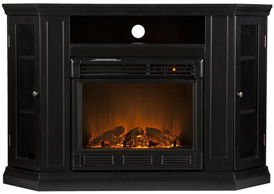 Brentwood Media Electric Fireplace - Corner Electric Fireplace - Electric Fireplaces - Media Fireplace - Fireplace Media Center - Electric Fireplace Media Center - Corner Fireplace | HomeDecorators.com