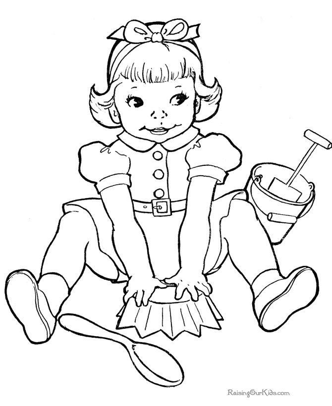 fun kids coloring pages free - Colouring Book For Children