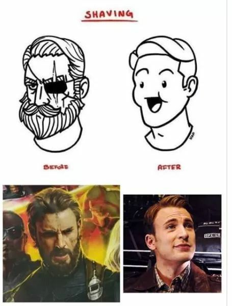 I prefer my man with a beard  Only real men can grow facial hair!