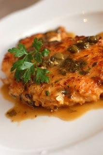 Giada's Chicken Piccata - So simple but so good. Hubby even asked if there was more. (Yum Factor 4.5 of 5).
