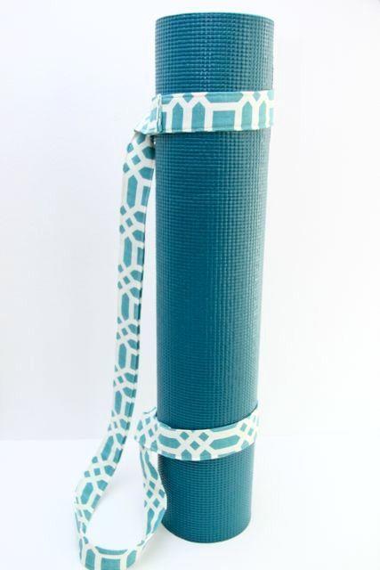 DIY Yoga Mat Sling- handmade gift idea