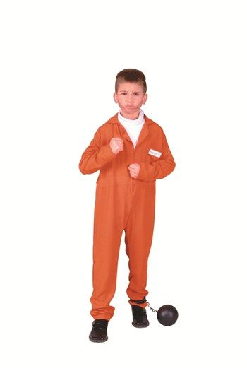 Awesome Costumes Boys Escaped Convict Costume just added...
