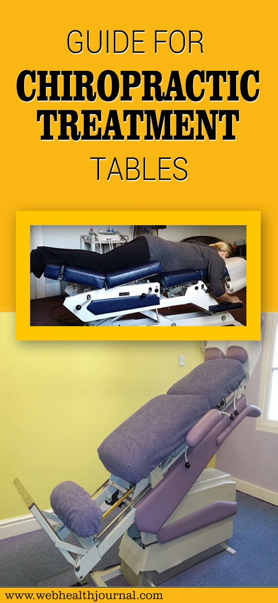 Guide for Chiropractic Treatment Tables :  #Chiropractic  #Treatment  #health_tips #healthy_living #health  #exercise #healthy #body #Surgery  #fitness #fit