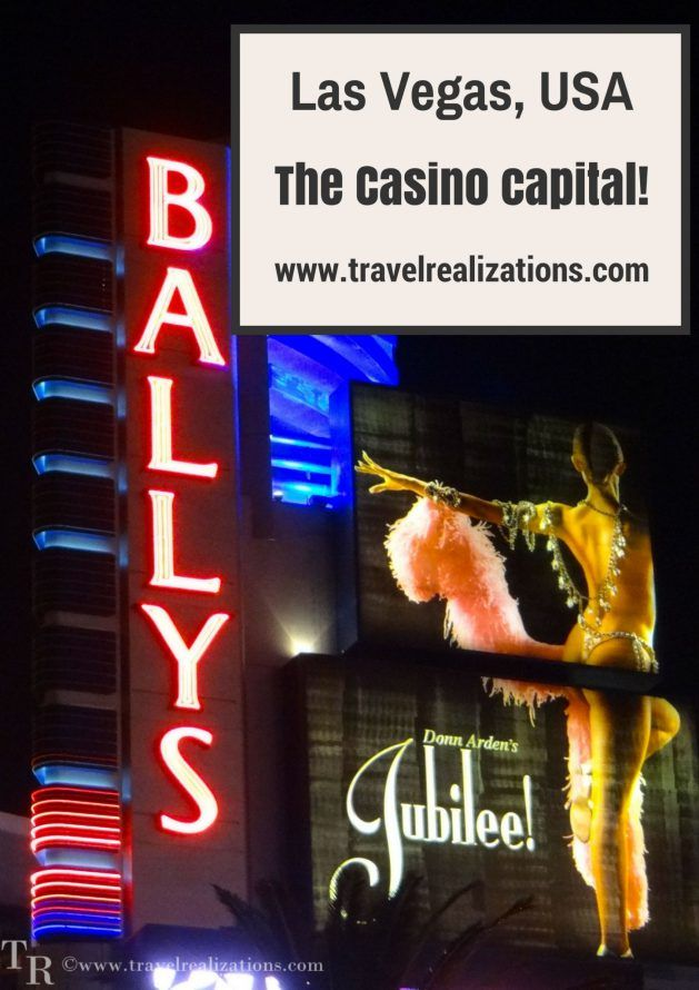A night in Las Vegas - Travel Realizations