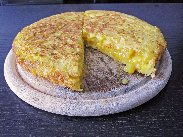 Traditionelle spanische Tortilla, ein sehr leckeres Rezept aus der Kategorie Braten. Bewertungen: 93. Durchschnitt: Ø 4,6.