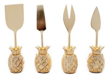 Zestt Luau Set Of 4 Cheese Knives This is an affiliate link, please click onto link to view more.