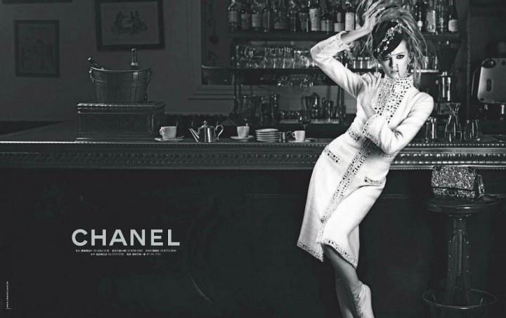 Chanel's pre autumn winter campaign: Carin Roitfeld, Near Fal 2012, Prefal 2012, Chanel Prefal, Paris Bombay, Ads Campaigns, Daria Strokous, 2012 Campaigns, Karl Lagerfeld