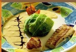 Sandre papillote de chou - St-Jacques - Recettes - Cuisine française
