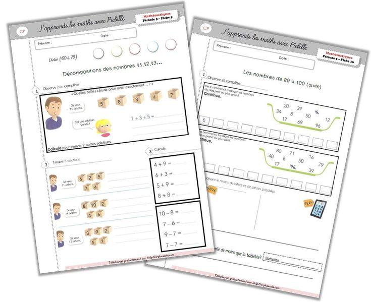 exercice de math cp pdf