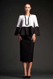 Black and White Verdura Top - I love the mix of black and white.  Timeless and elegant.