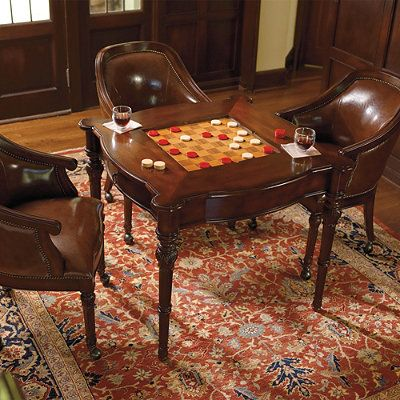 With Our Freeman Game Room Furniture You Can Challenge Family And Friends To Your Favorite Chess Checkers Or Card Games