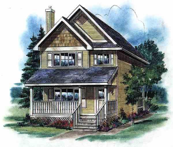 House Plan ID: chp-11448 - COOLhouseplans.com