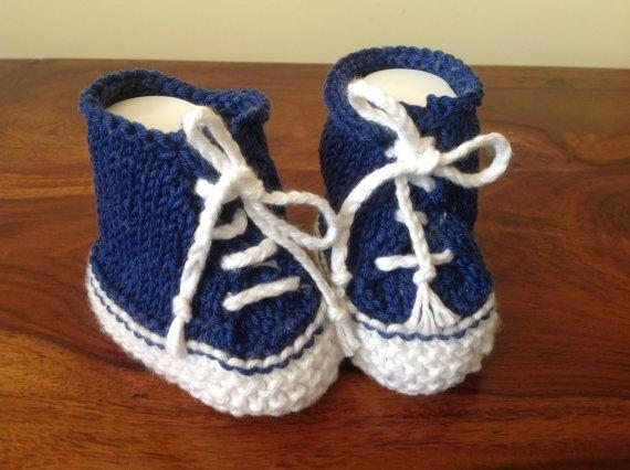 Baby SneakersBaby TrainersBaby Tennis ShoesCute by Pinknitting
