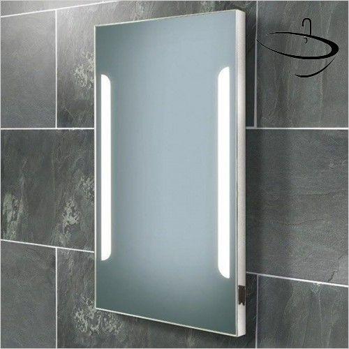 hib bathroom mirrors zenith rectangular mirror 80 x 45 x 55cm