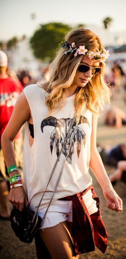 ☮ ➳ American Hippie Bohemian ➳ ☮ - Festival ... Boho Bohéme Feathers Gypsy Spirit Bizu Baroque Tati Tati