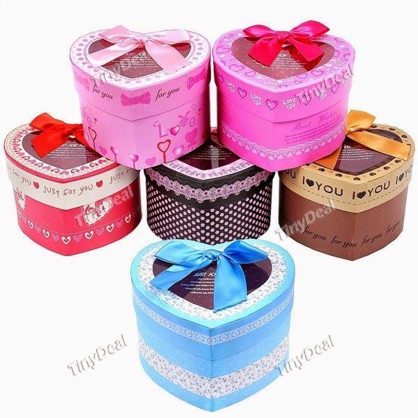Интернет - магазины : Оригинально красочные подарочные коробки в форме с...