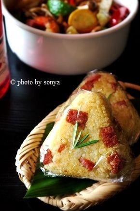 ◆弁当に「ころっとスパムのカレー焼むすび」