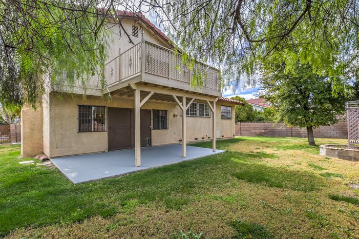 Rustic charm and so many upgrades and decorator touches! New carpet, fresh paint, beautiful wood floors, shutters, crown molding, covered patio & balcony off master! New within the last year: dishwasher, toilets, water heater & garage door opener. No HOA (there are CCR'S) and RV Parking!!! Only $277,500 🔥~ Faith & Team, Urban Nest Realty #newlisting #faithandteam #lasvegashomes  #gottahavefaith #rustic #charming #home #vegasrealtor  #shutters