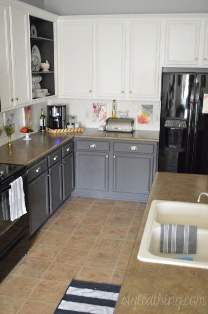 Easy Kitchen Redo After Painting Kitchen Cabinets Nickel