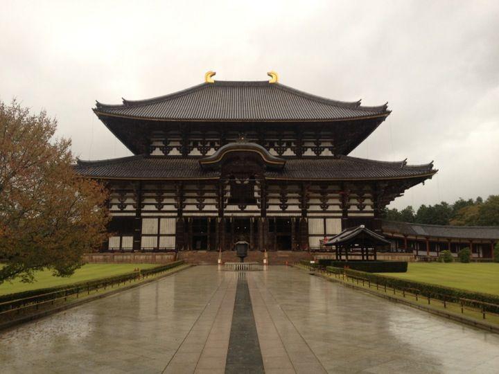 華厳宗大本山 東大寺 (Todai-ji Temple) in Nara, 奈良県