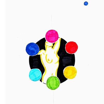 Recibir y contener. La energía femenina. #mandala #meditacion #busqueda