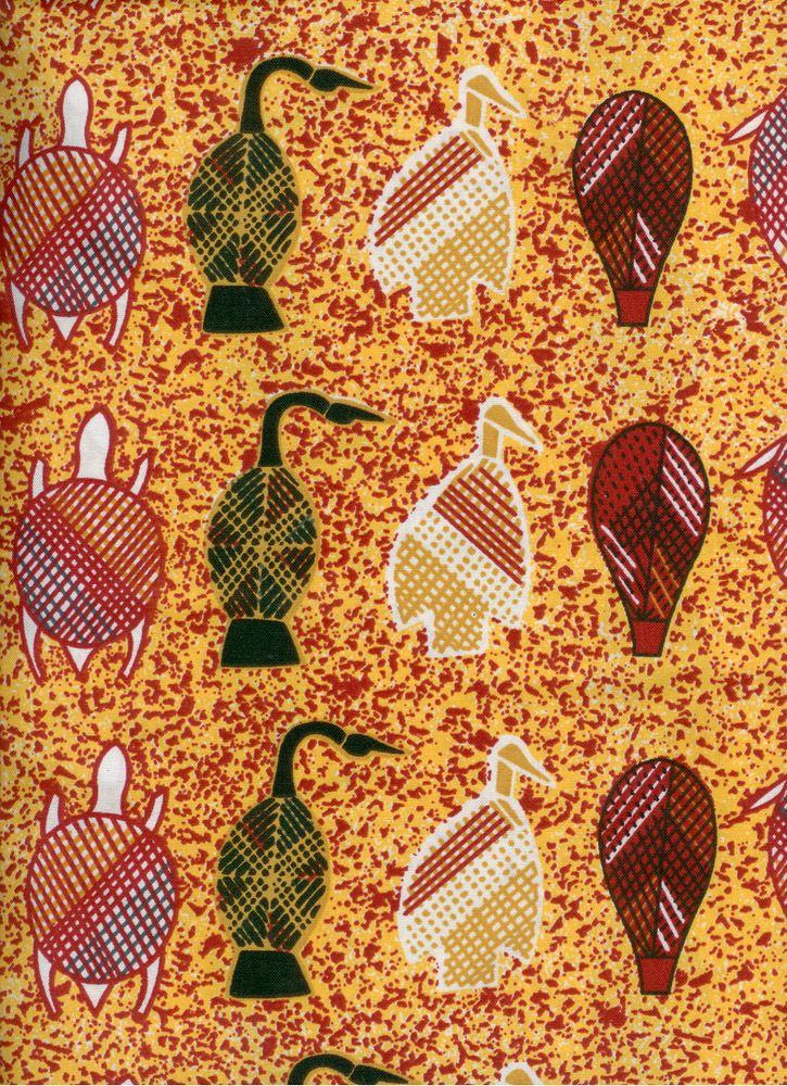"Ausdesign Tablecloth - Turtles Artist:  Cedric Kelly Artwork design story enclosed with tablecloth  suitable for a 6 seater dinner table  Rectangle - Dinner 206cm x 107cm (81"" x 42"") Australian Made - 100% Cotton Price - $50.00 each [incl GST]"