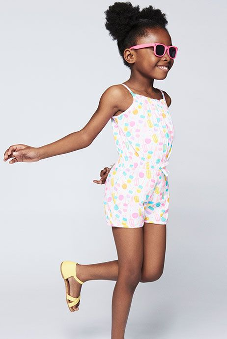 younger girl playsuit