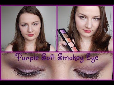Purple Soft Smokey Eyes Tutorial // Using Inglot Rainbow Eyeshadows