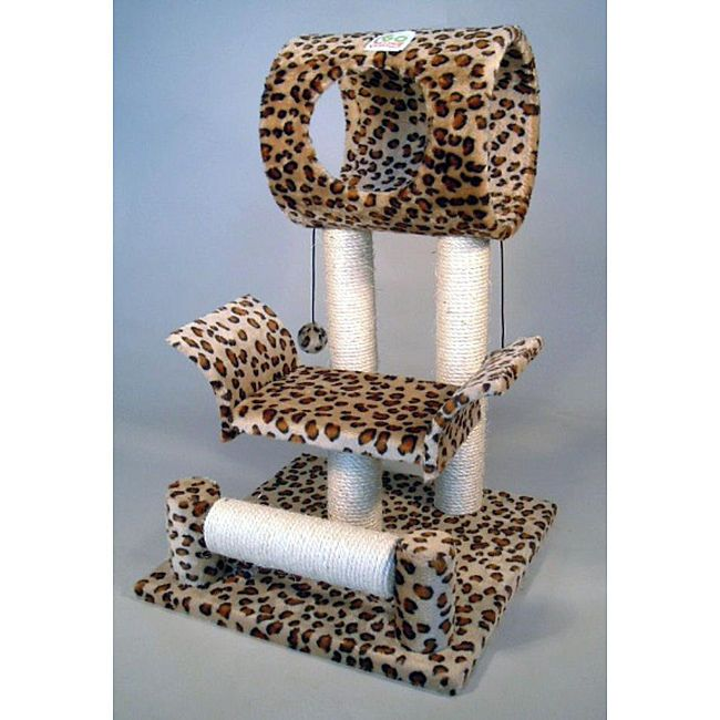 Quality Cat Tree Furniture Scratcher Condo Kitty Pet Bed House Carpet Tower Post