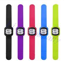 Distance de marche de marche nombre calories mesure podomètre bracelet montre sport montre podomètre véritable 3D montre électronique(China (Mainland))