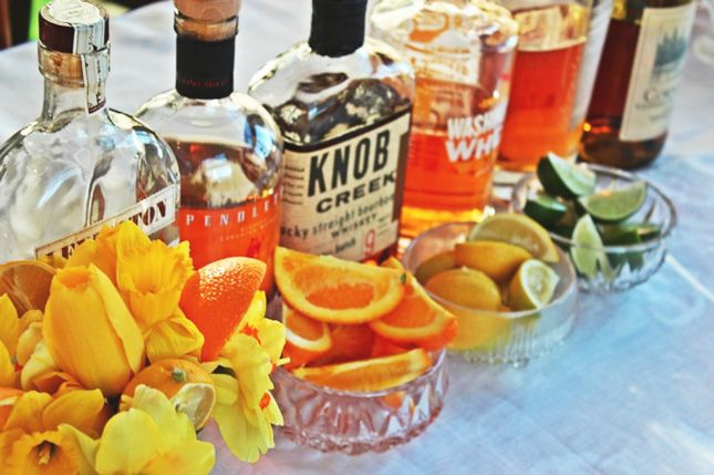 Your Ultimate Guide to Hosting a Bourbon Tasting Party via Brit + Co.
