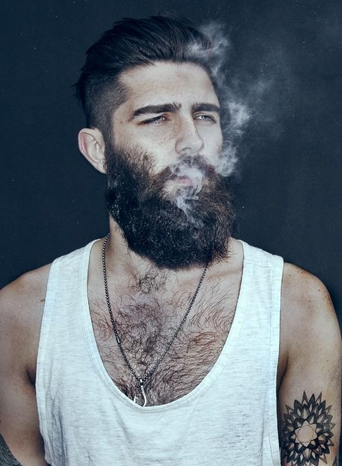 Tremendous 1000 Images About Beard Men Amp Tattoo On Pinterest Hottest Male Short Hairstyles Gunalazisus