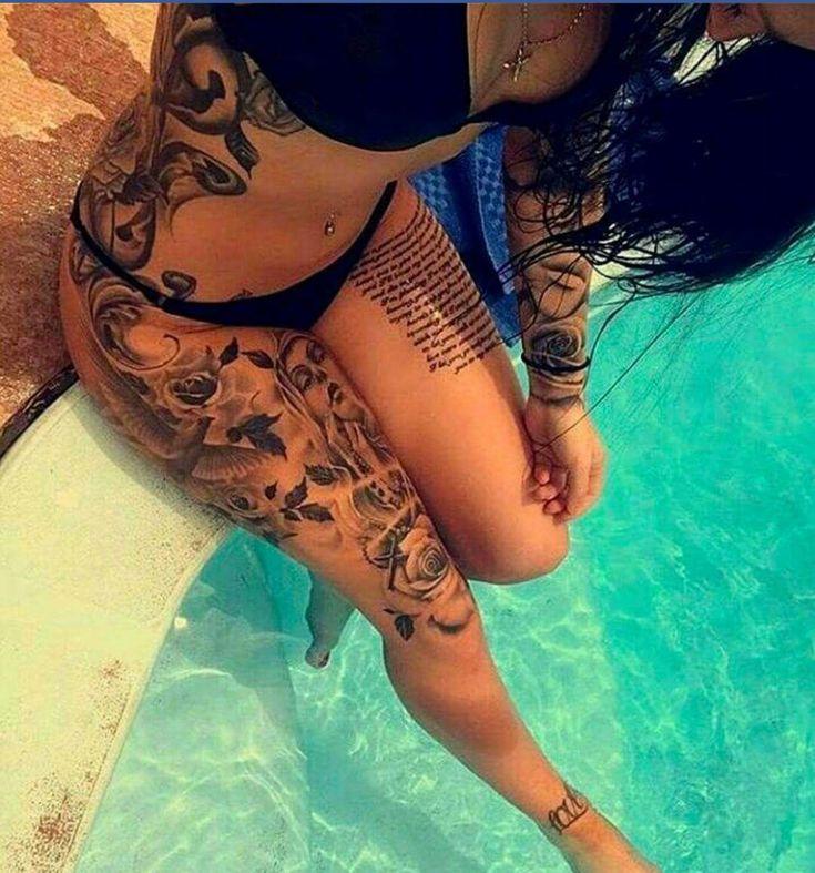 Stunning Tattoos from Tattooed Women