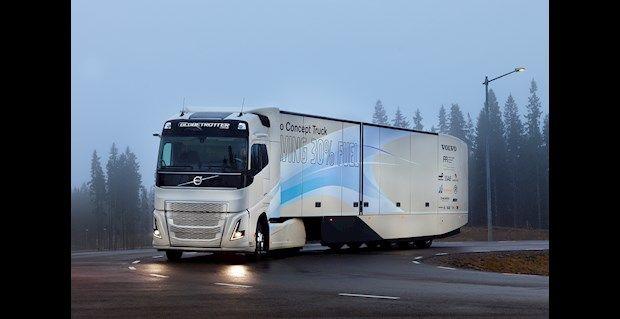 Noticias de Logística en Argentina y Latinoamérica    El último Concept Truck de Volvo prueba una cadena cinemática híbrida para el transporte de larga distancia