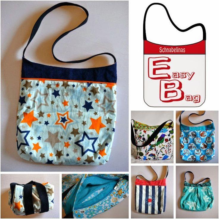 Schnabelinas Welt: EasyBag statt Plastiktüten (Freebook)