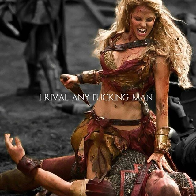 Saxa  #spartacus #womensday