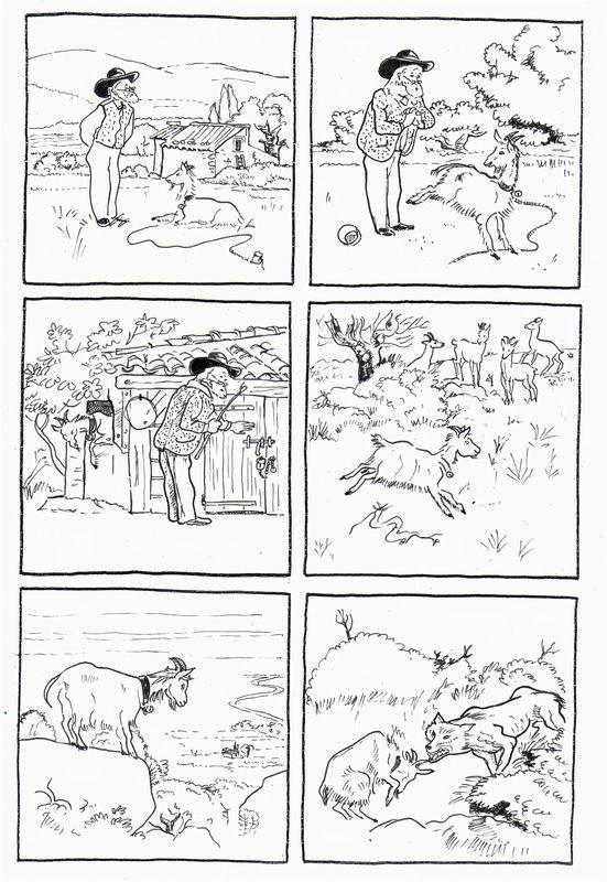 la_chèvre de m. Séguin