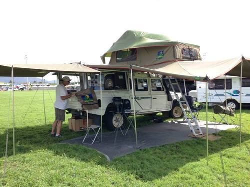 Vehicle Awnings : Howlingmoon Card side awning are easy to mount and operate, these retractable awnings fit on to the side of a roof rack, car etc and are conveniently stored for immediate use on arrival. Buy Now! Hurry! URL:-http://www.howlingmoon.com.au/products/awnings | howlingmoon