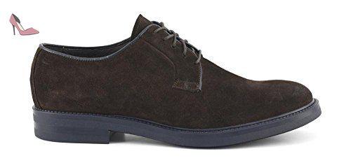 Sneaker nera in bufalo con suola antracite Cafè Noir art. PA201 42 woXMlxEdC