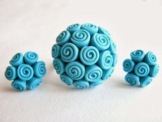 Handmade polymer clay jewelry!http://bijudiart.blogspot.ro/