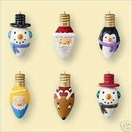 Holiday light bulbs.
